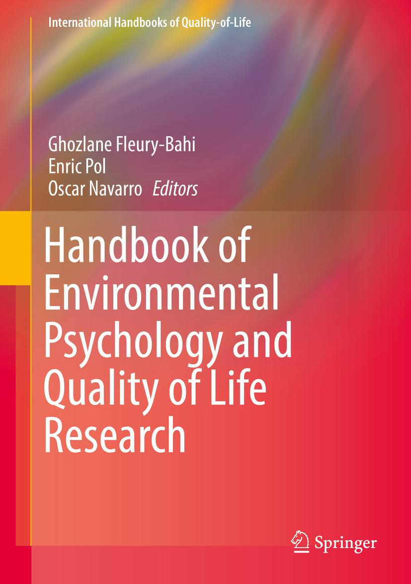 Fleury-Bahi, Ghozlane - Handbook of Environmental Psychology and Quality of Life Research, ebook
