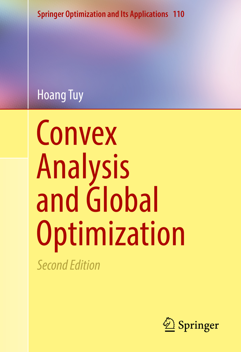 Tuy, Hoang - Convex Analysis and Global Optimization, ebook