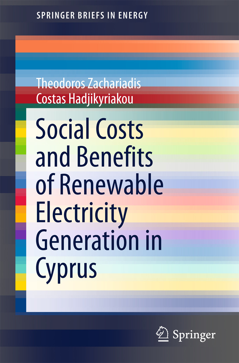 Hadjikyriakou, Costas - Social Costs and Benefits of Renewable Electricity Generation in Cyprus, ebook