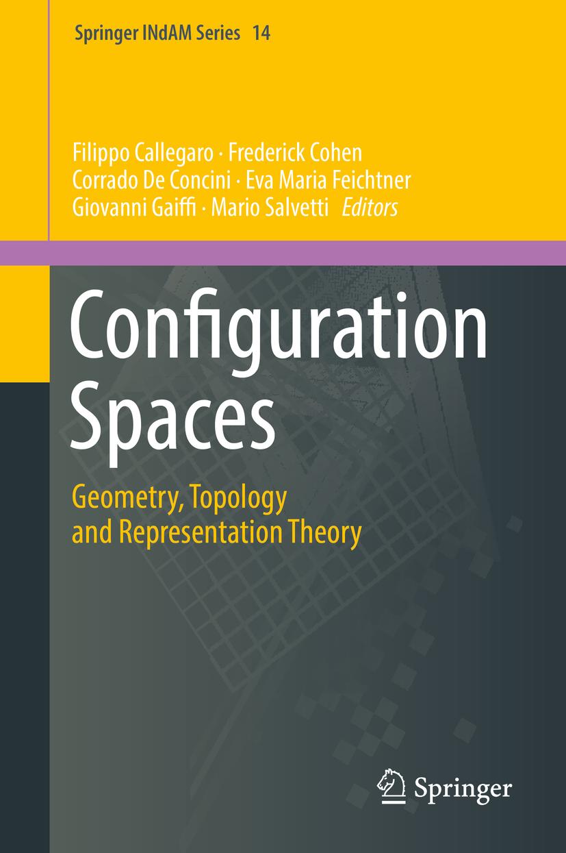 Callegaro, Filippo - Configuration Spaces, ebook