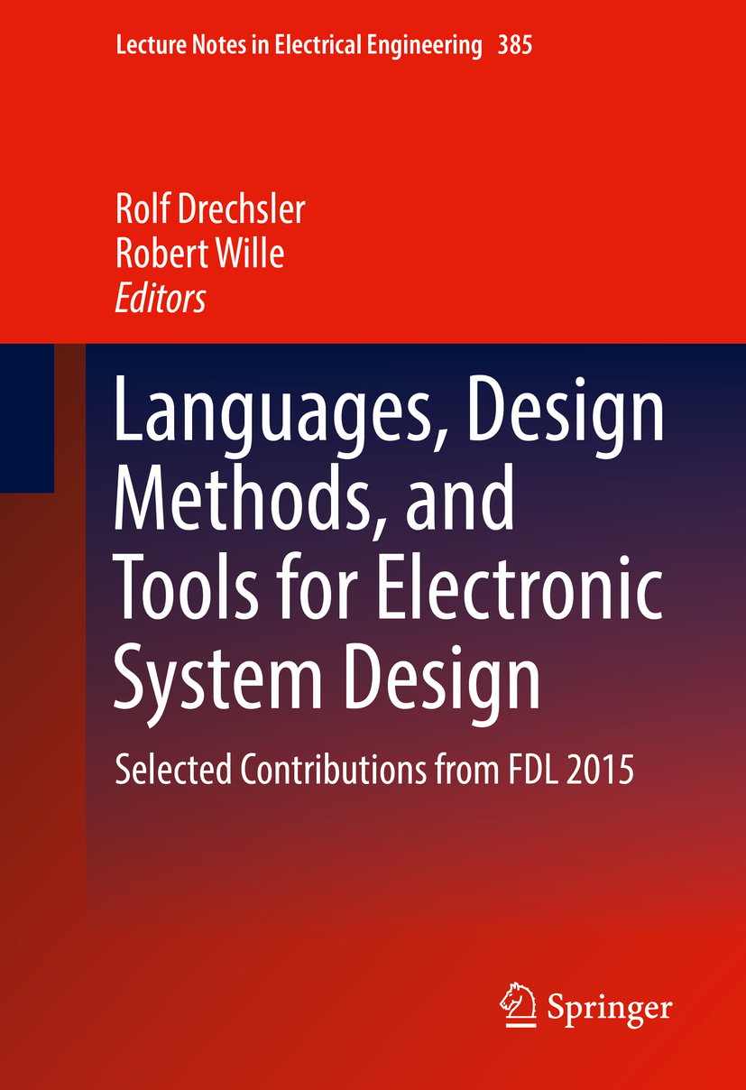 Drechsler, Rolf - Languages, Design Methods, and Tools for Electronic System Design, ebook
