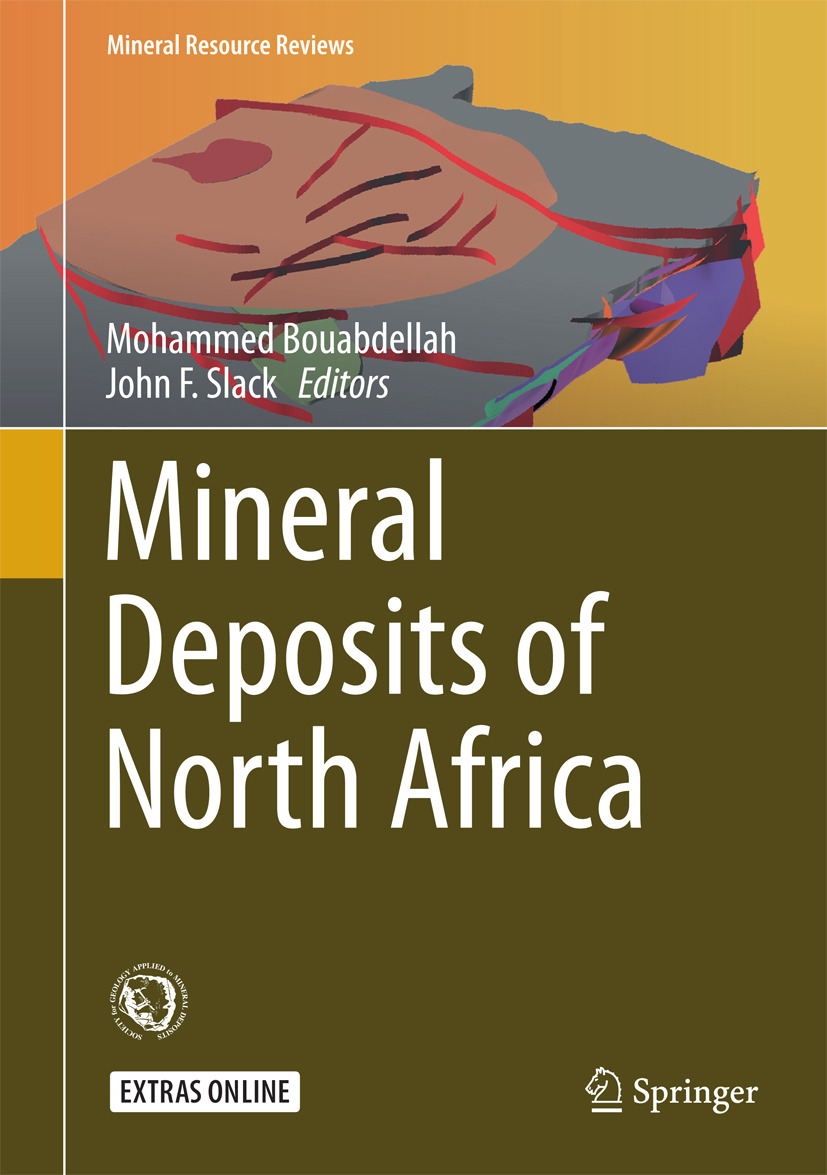 Bouabdellah, Mohammed - Mineral Deposits of North Africa, ebook