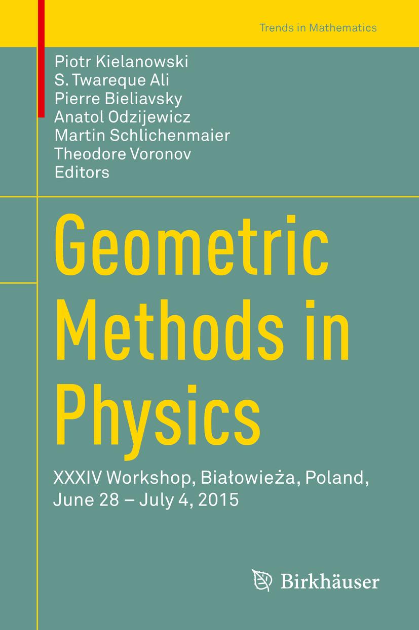 Ali, S. Twareque - Geometric Methods in Physics, ebook