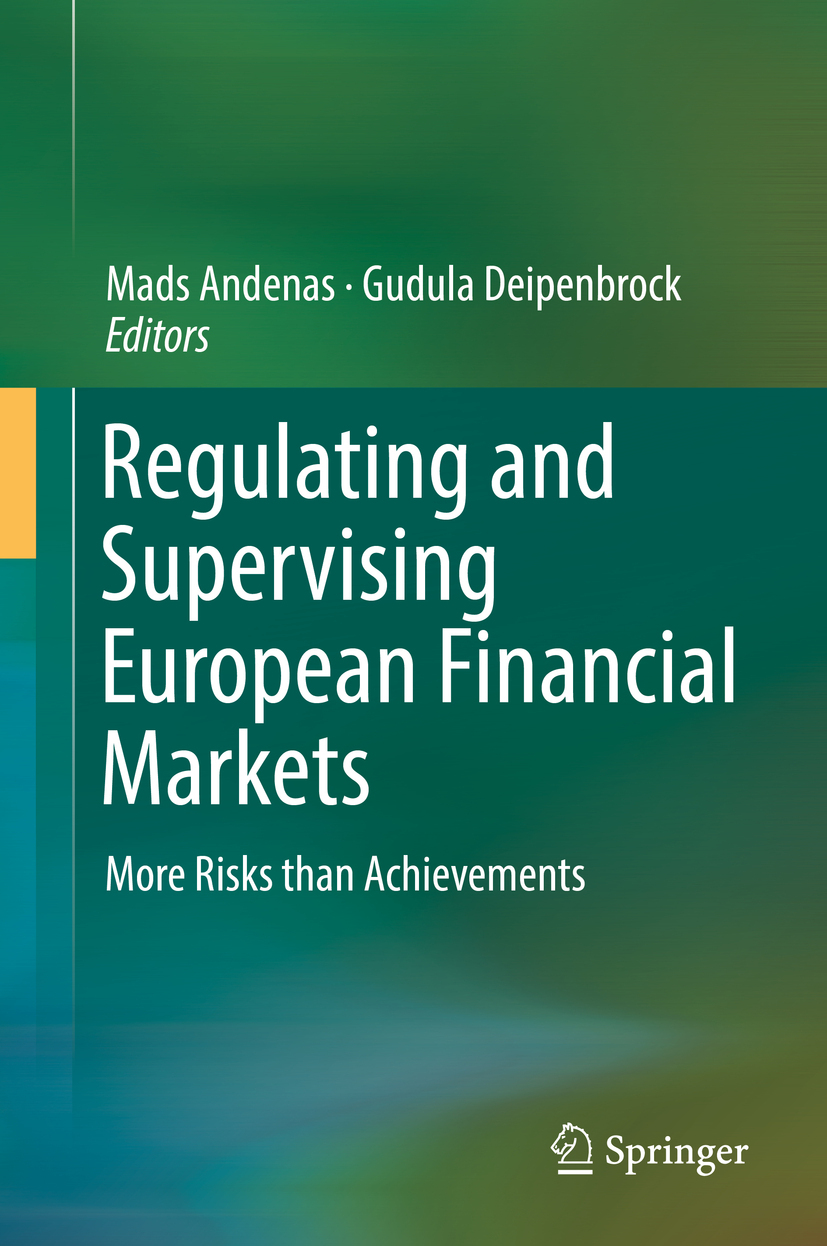 Andenas, Mads - Regulating and Supervising European Financial Markets, ebook