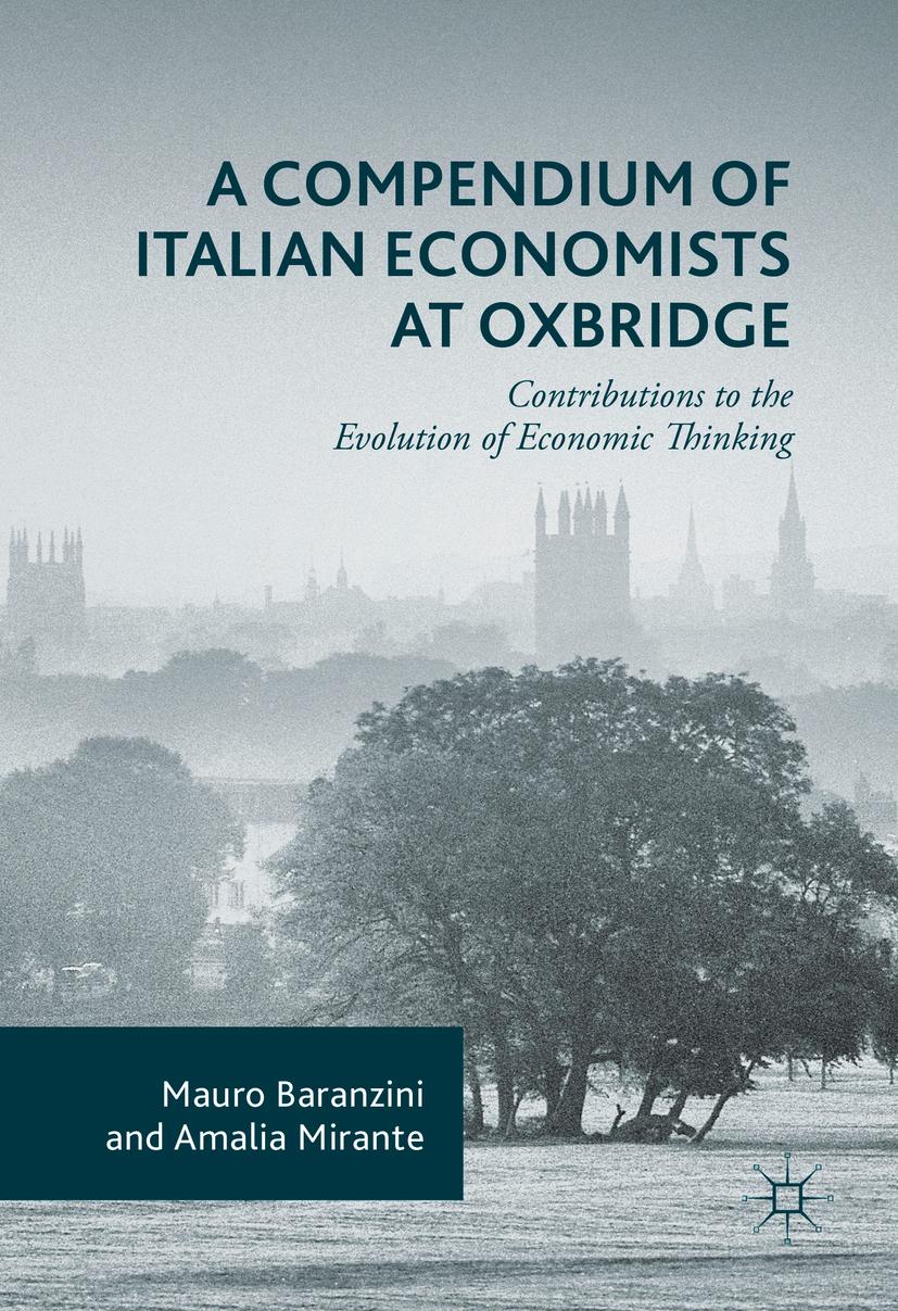 Baranzini, Mauro - A Compendium of Italian Economists at Oxbridge, ebook