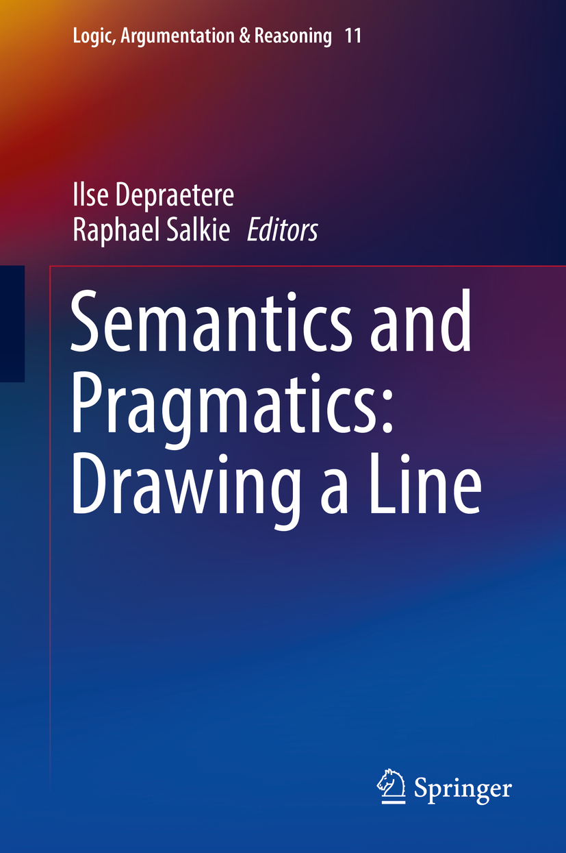 Depraetere, Ilse - Semantics and Pragmatics: Drawing a Line, ebook