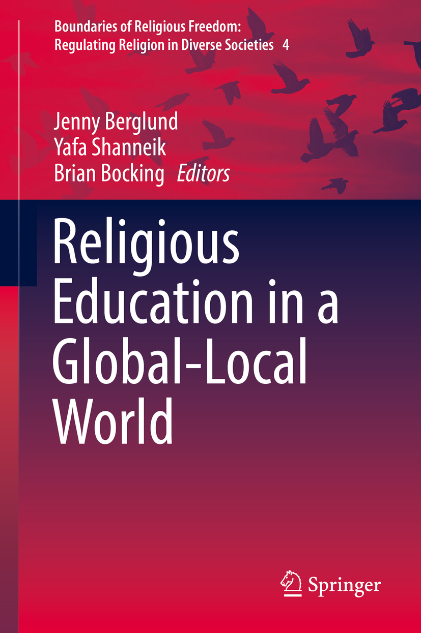 Berglund, Jenny - Religious Education in a Global-Local World, ebook
