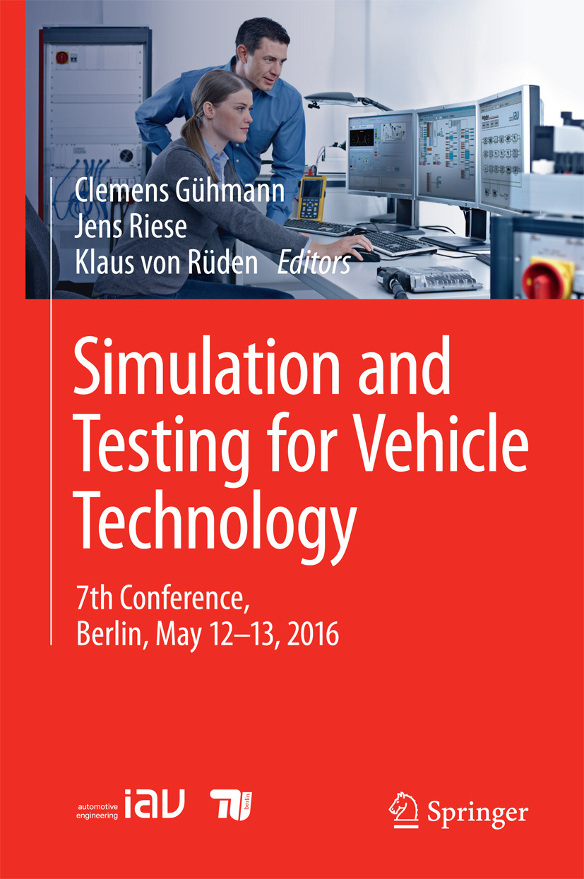 Gühmann, Clemens - Simulation and Testing for Vehicle Technology, ebook
