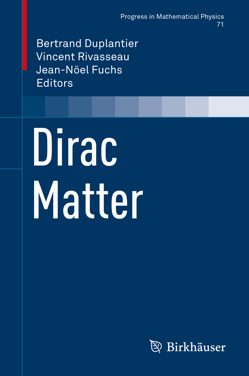 Duplantier, Bertrand - Dirac Matter, ebook