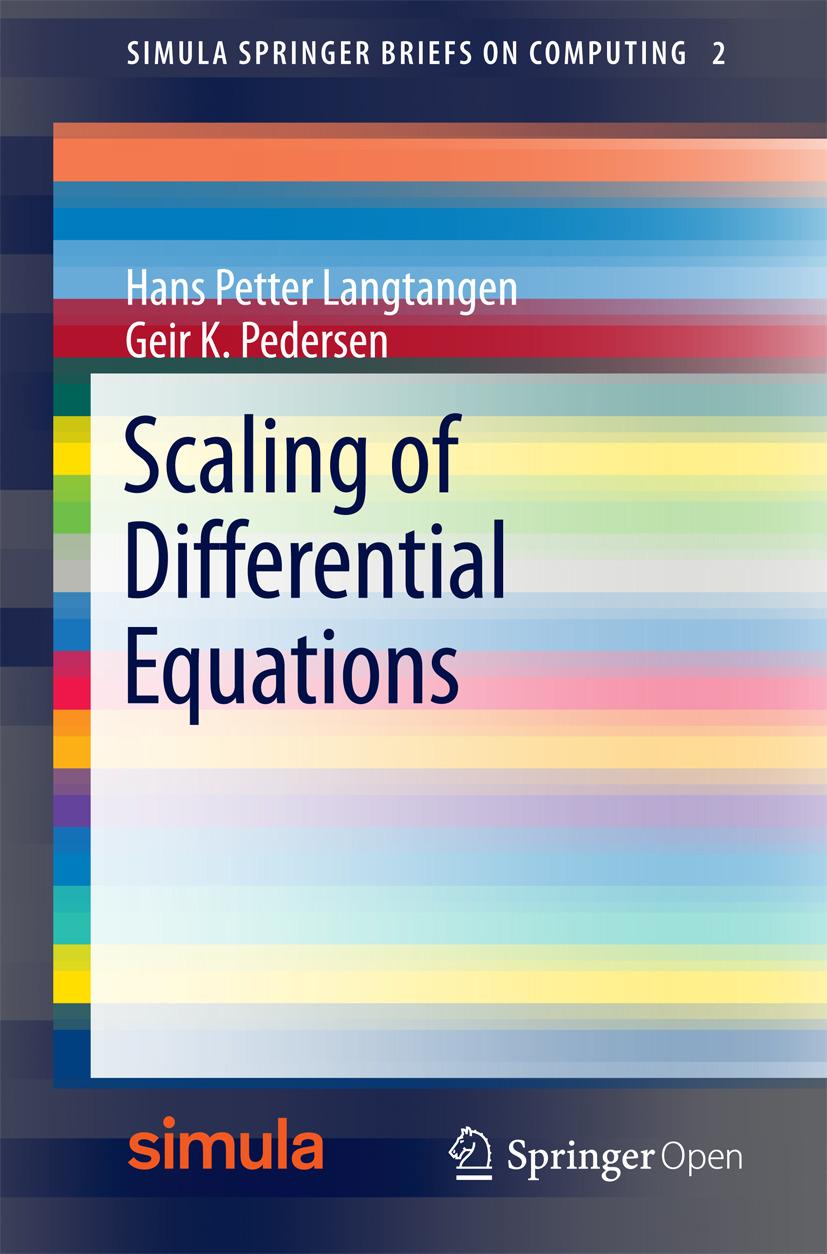 Langtangen, Hans Petter - Scaling of Differential Equations, ebook