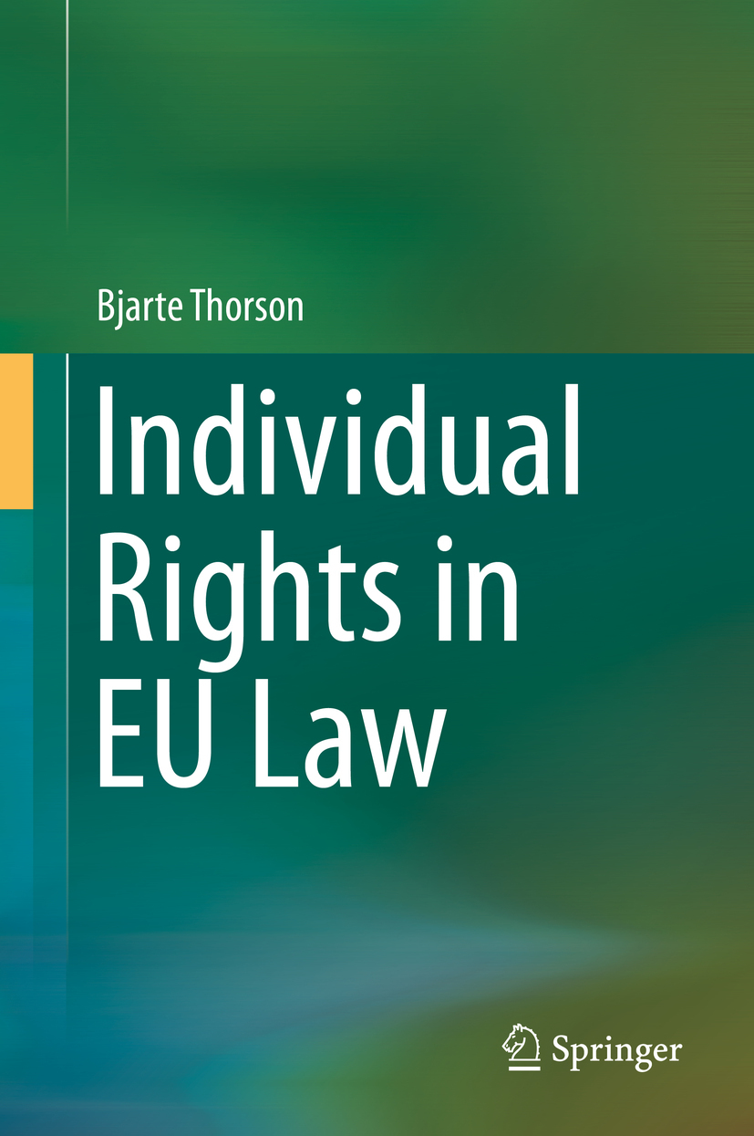 Thorson, Bjarte - Individual Rights in EU Law, ebook