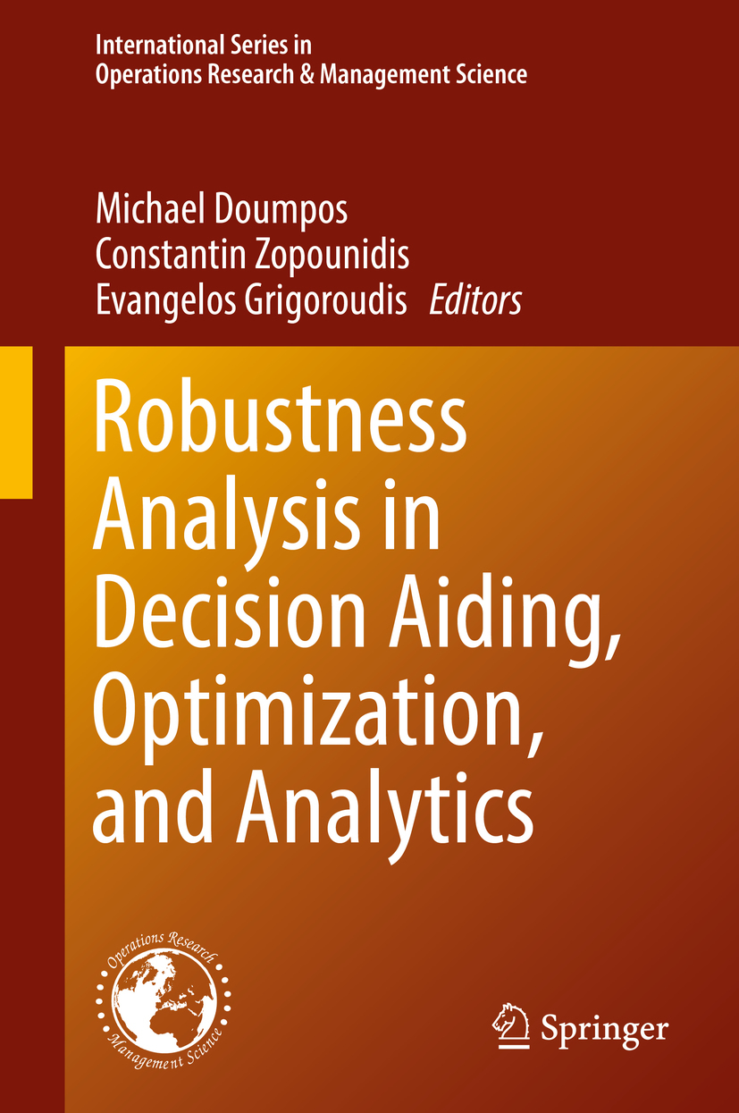 Doumpos, Michael - Robustness Analysis in Decision Aiding, Optimization, and Analytics, ebook