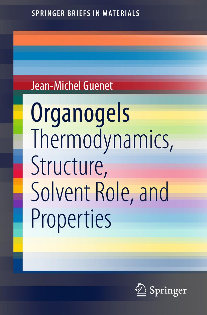 Guenet, Jean-Michel - Organogels, ebook