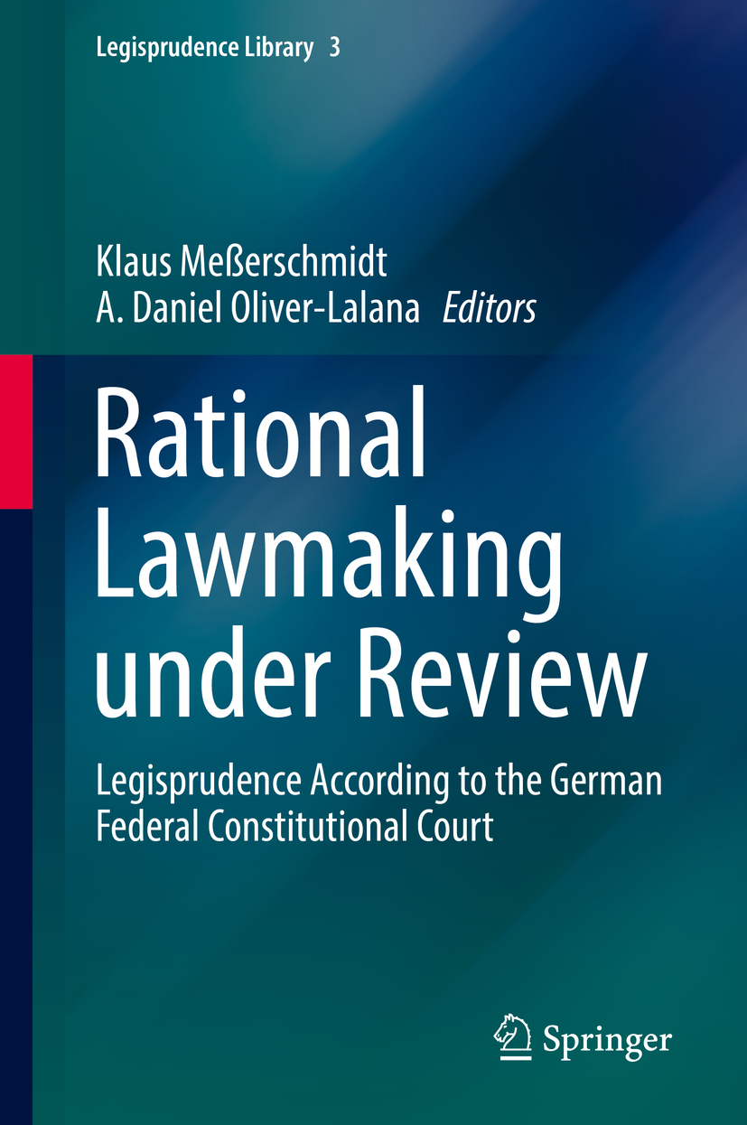 , Klaus Meßerschmidt - Rational Lawmaking under Review, ebook