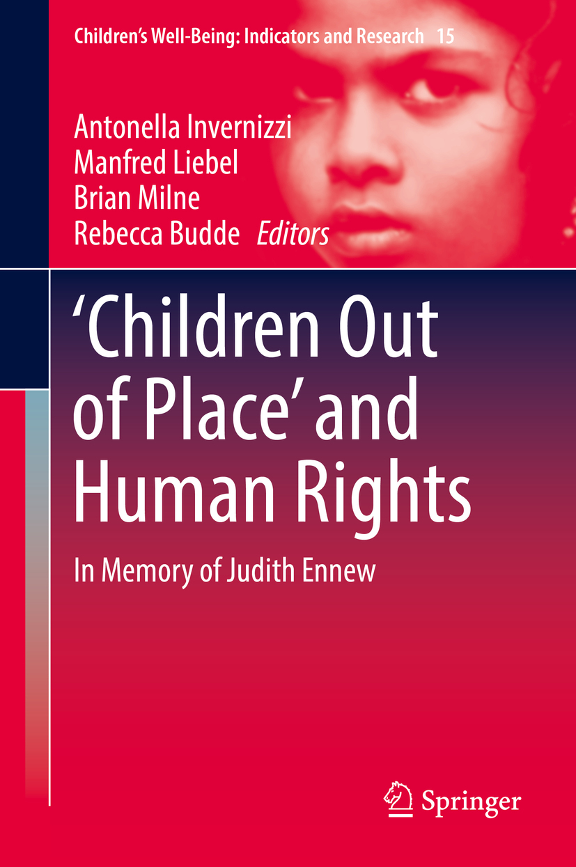 Budde, Rebecca - 'Children Out of Place' and Human Rights, ebook