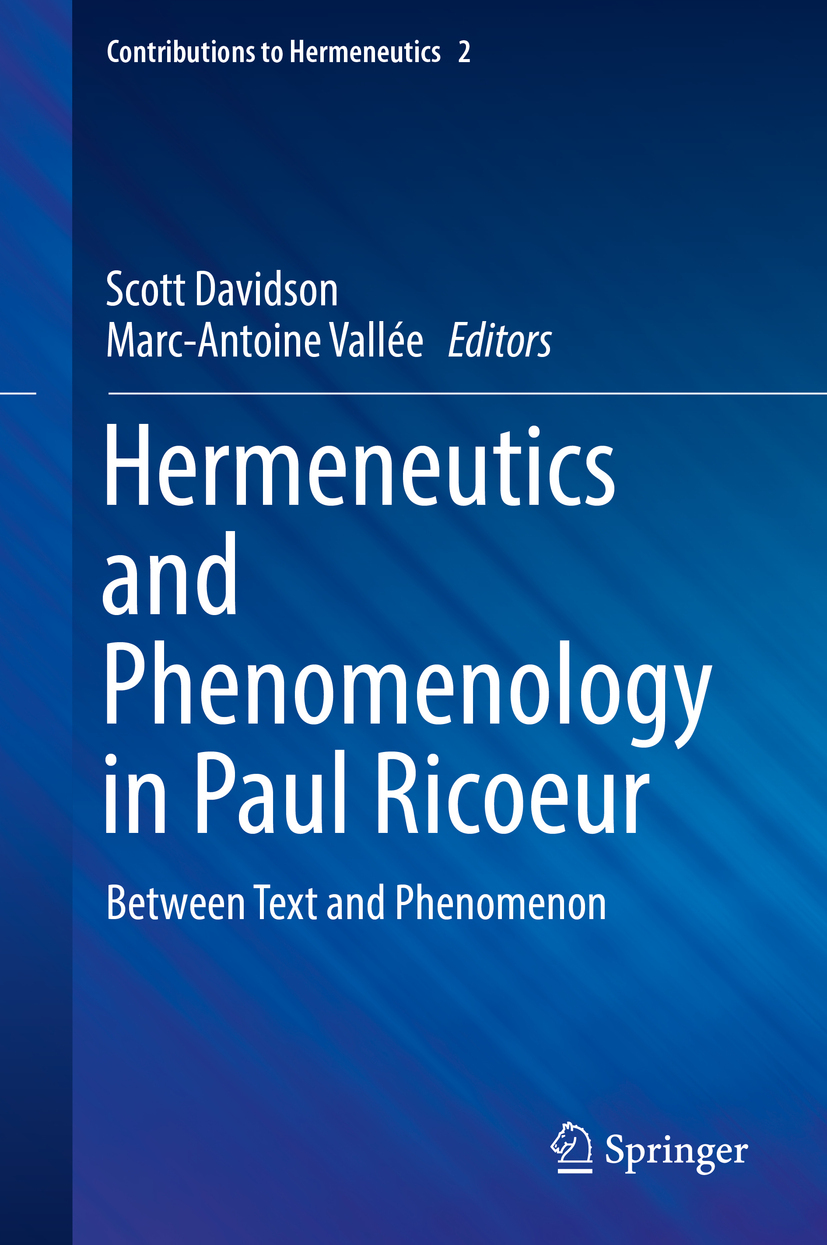 Davidson, Scott - Hermeneutics and Phenomenology in Paul Ricoeur, ebook