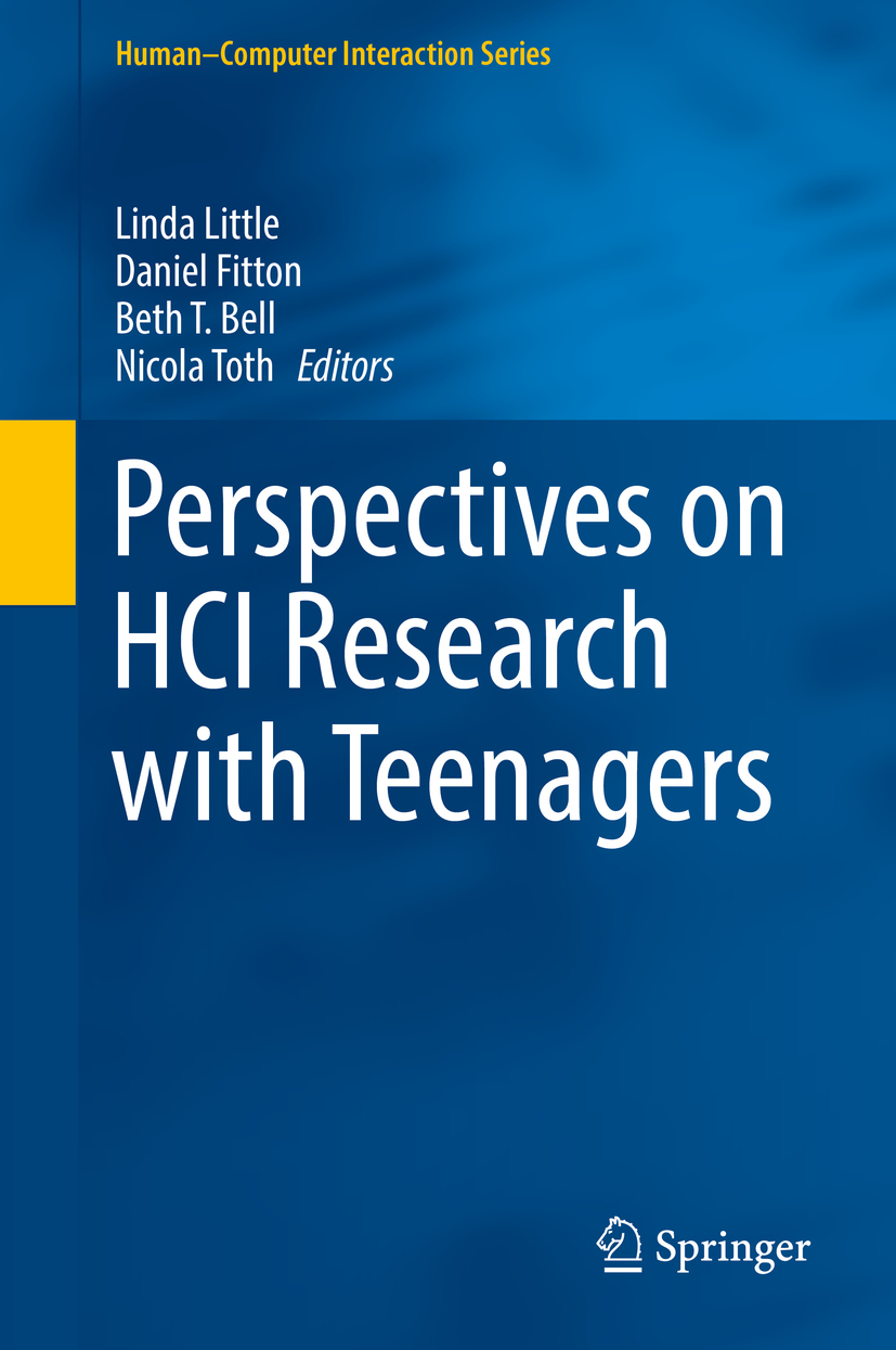 Bell, Beth T. - Perspectives on HCI Research with Teenagers, ebook