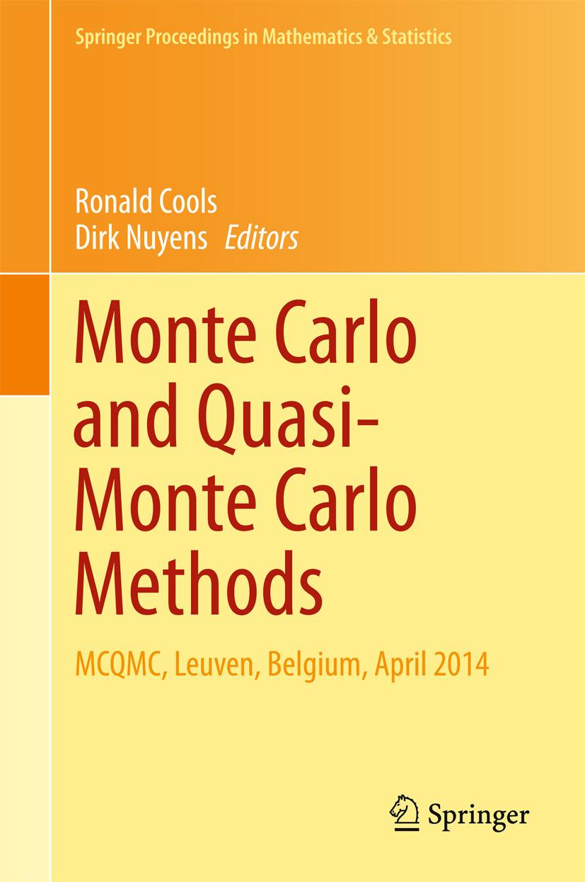 Cools, Ronald - Monte Carlo and Quasi-Monte Carlo Methods, e-bok