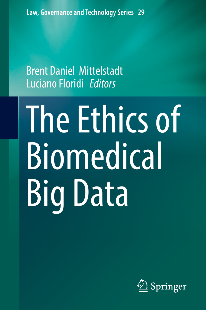 Floridi, Luciano - The Ethics of Biomedical Big Data, ebook