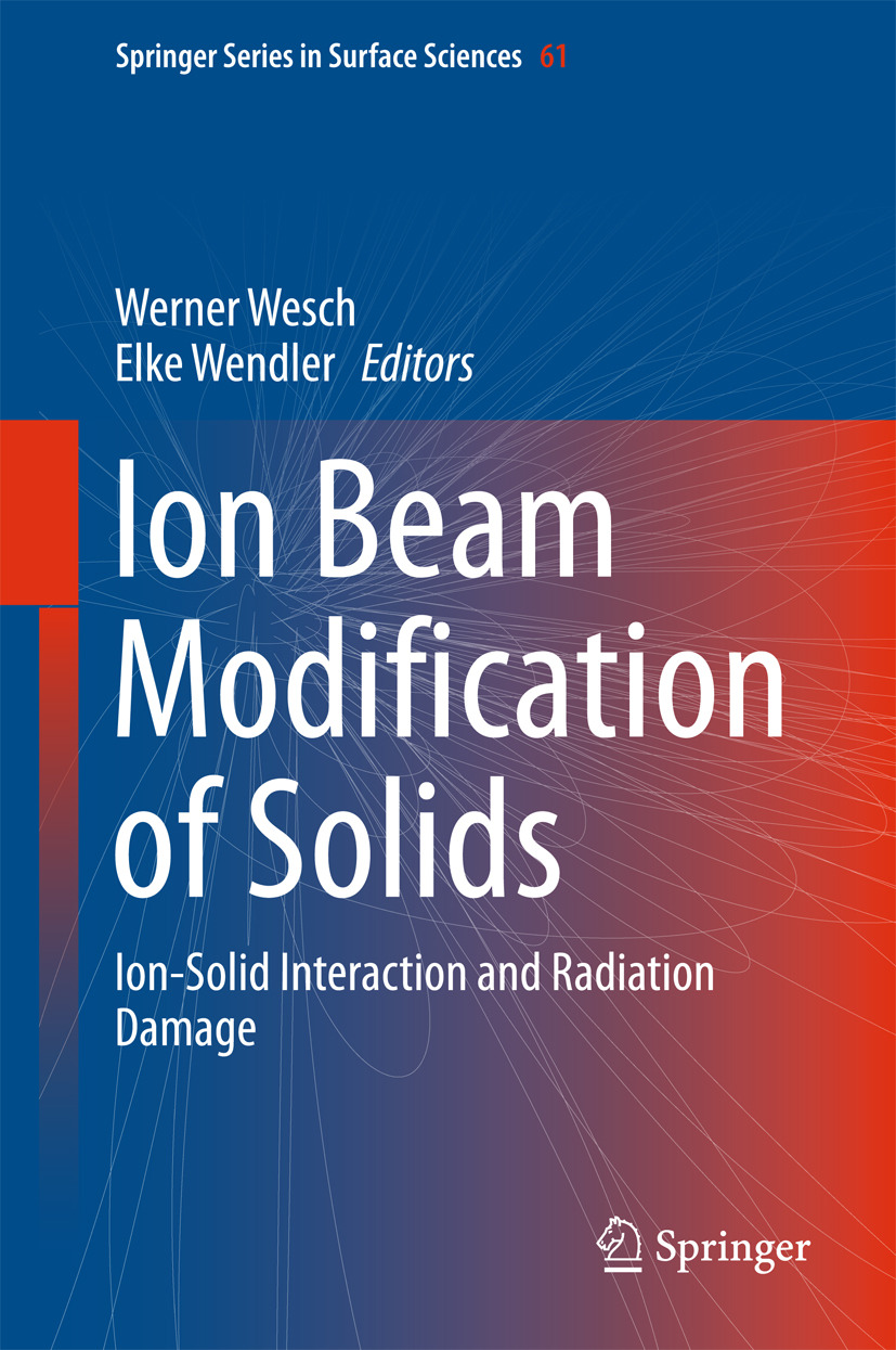 Wendler, Elke - Ion Beam Modification of Solids, ebook