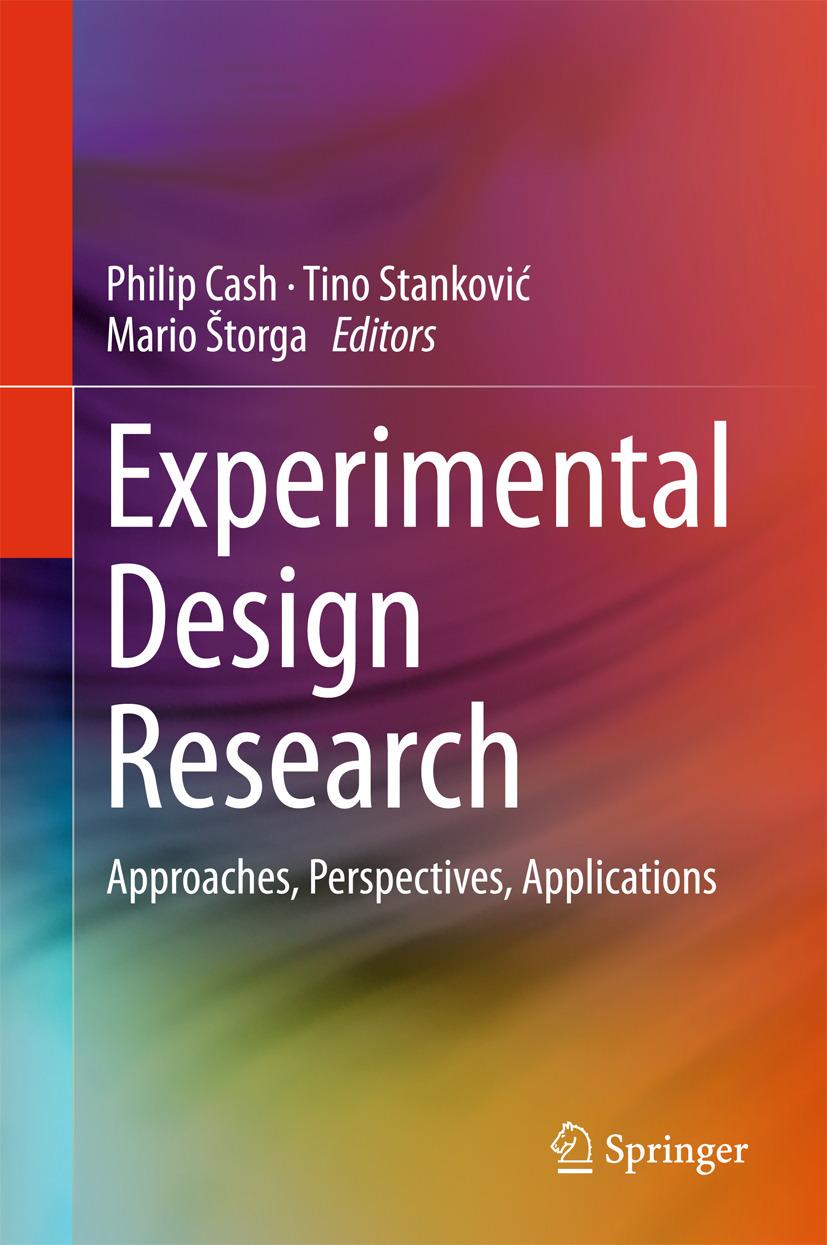 Cash, Philip - Experimental Design Research, ebook