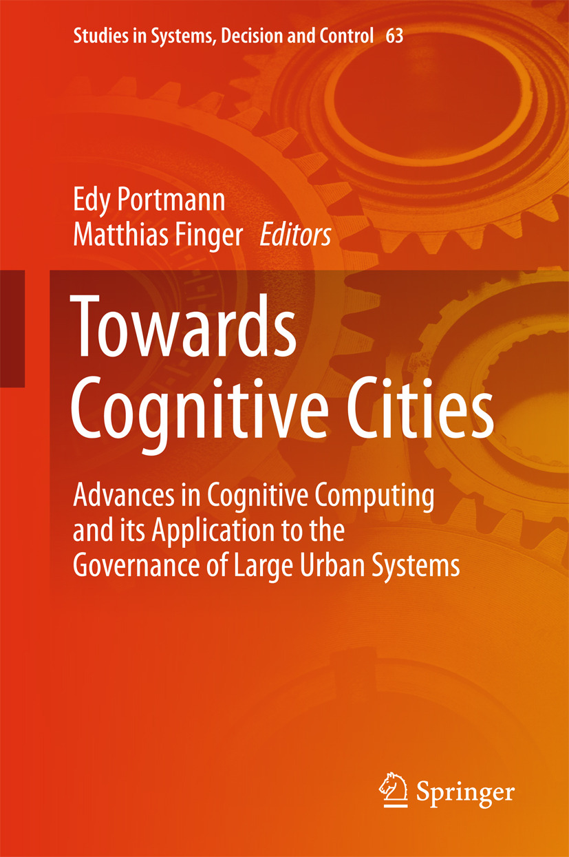 Finger, Matthias - Towards Cognitive Cities, ebook