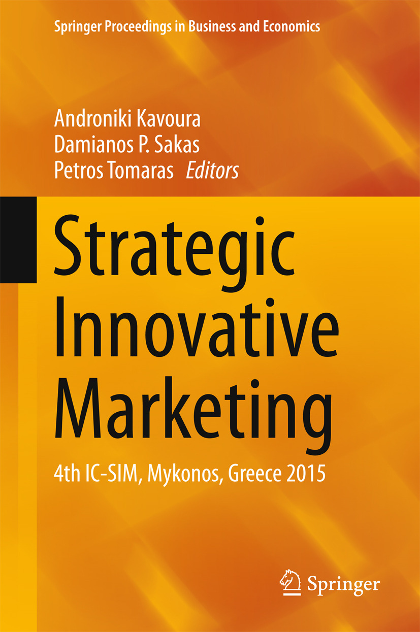 Kavoura, Androniki - Strategic Innovative Marketing, ebook