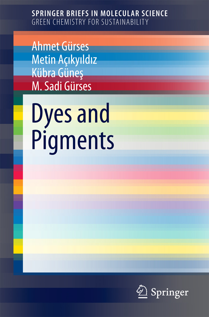 Açıkyıldız, Metin - Dyes and Pigments, ebook