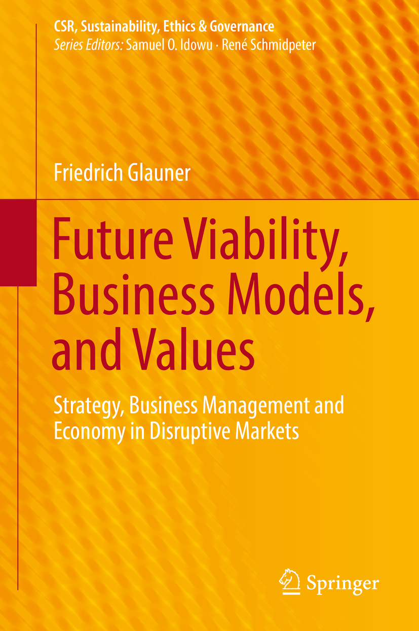 Glauner, Friedrich - Future Viability, Business Models, and Values, ebook