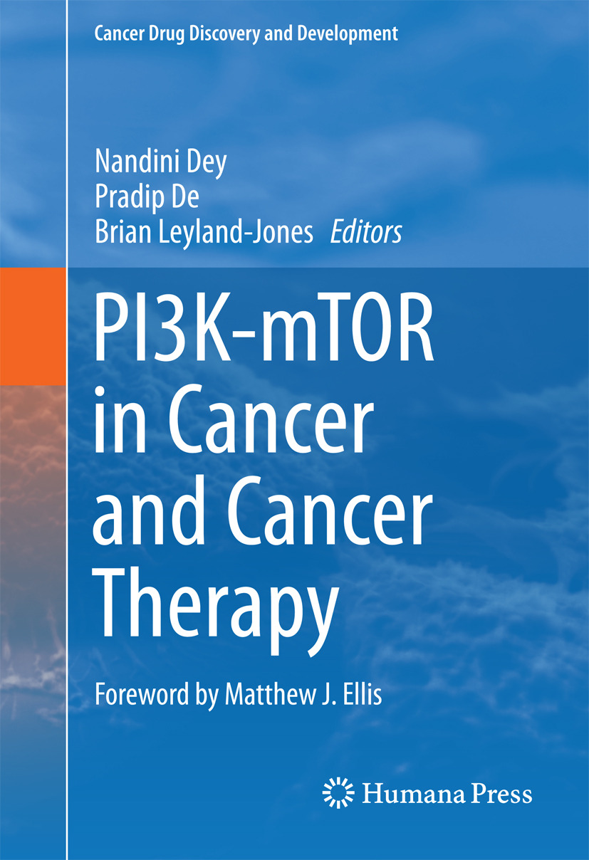 De, Pradip - PI3K-mTOR in Cancer and Cancer Therapy, ebook