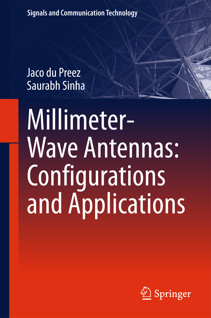 Preez, Jaco du - Millimeter-Wave Antennas: Configurations and Applications, ebook