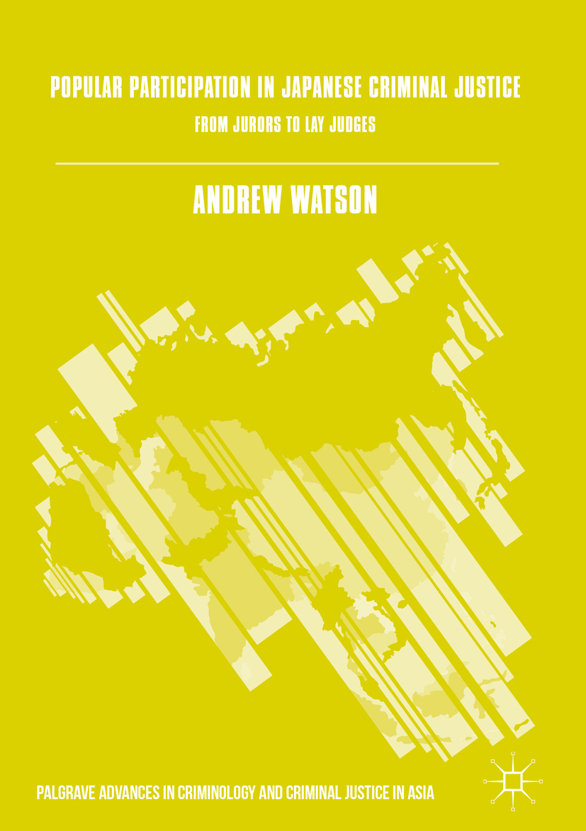 Watson, Andrew - Popular Participation in Japanese Criminal Justice, ebook