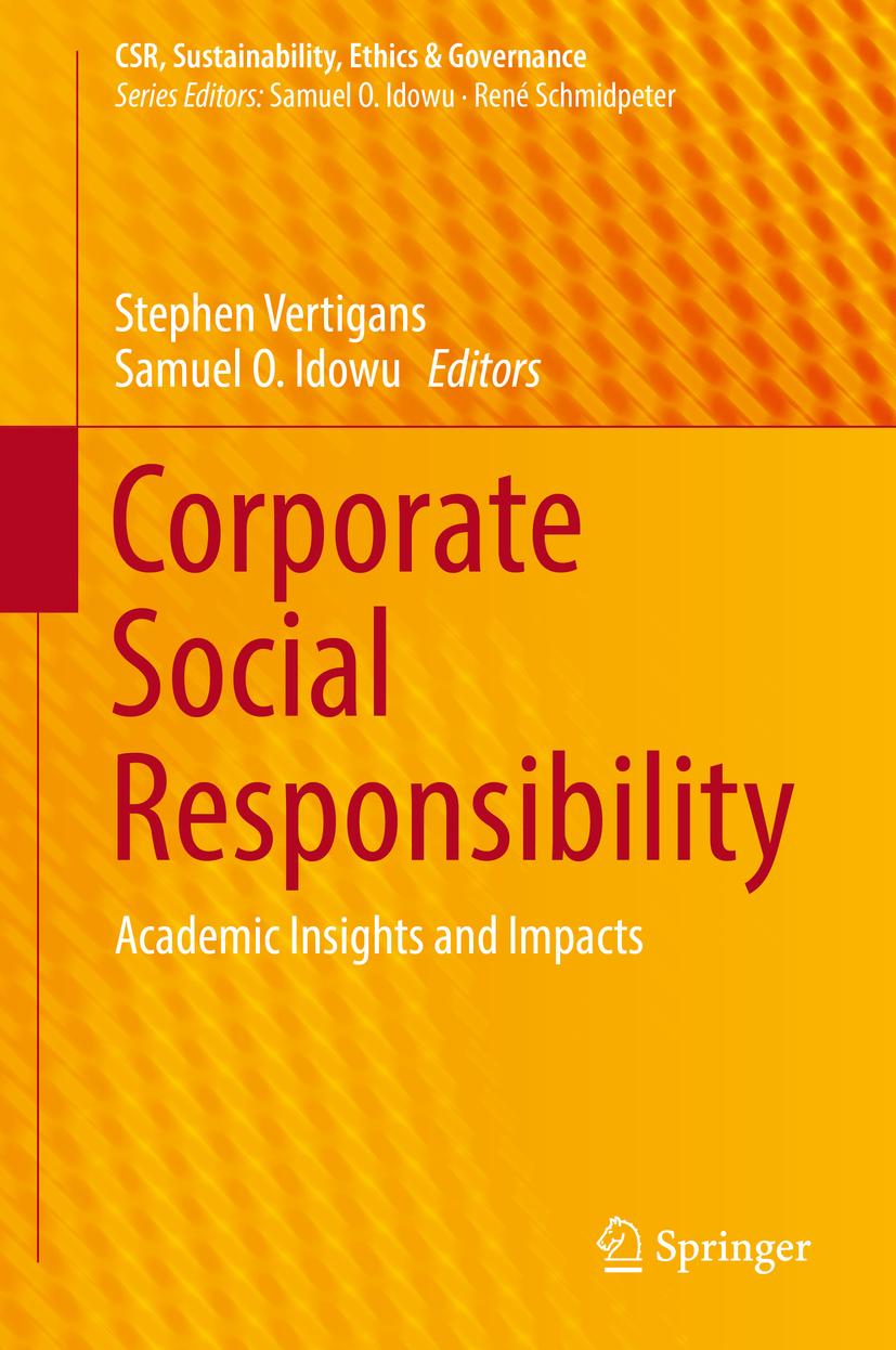 Idowu, Samuel O. - Corporate Social Responsibility, ebook
