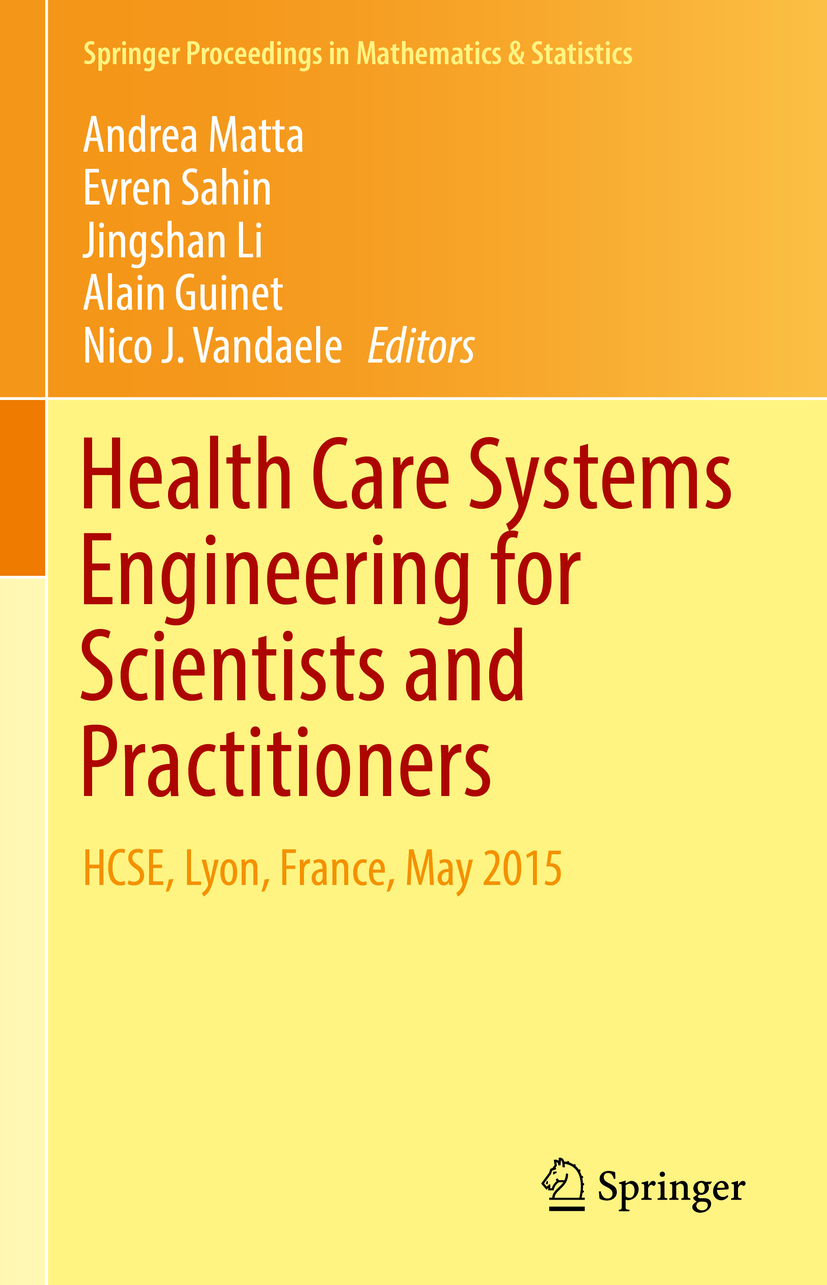 Guinet, Alain - Health Care Systems Engineering for Scientists and Practitioners, ebook