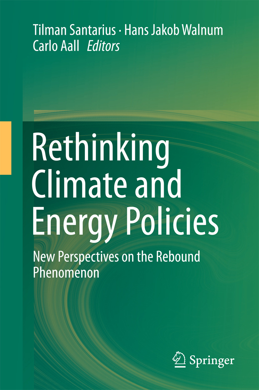 Aall, Carlo - Rethinking Climate and Energy Policies, ebook
