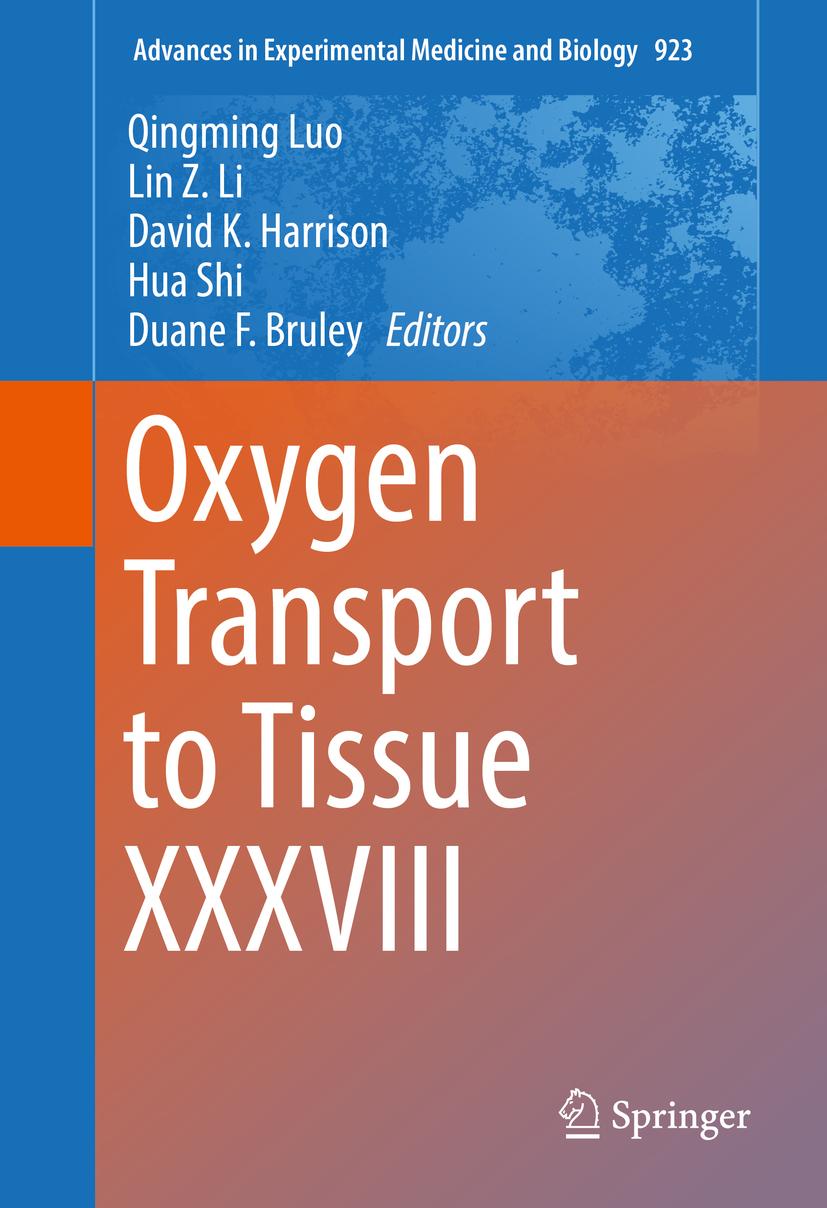 Bruley, Duane F. - Oxygen Transport to Tissue XXXVIII, e-kirja