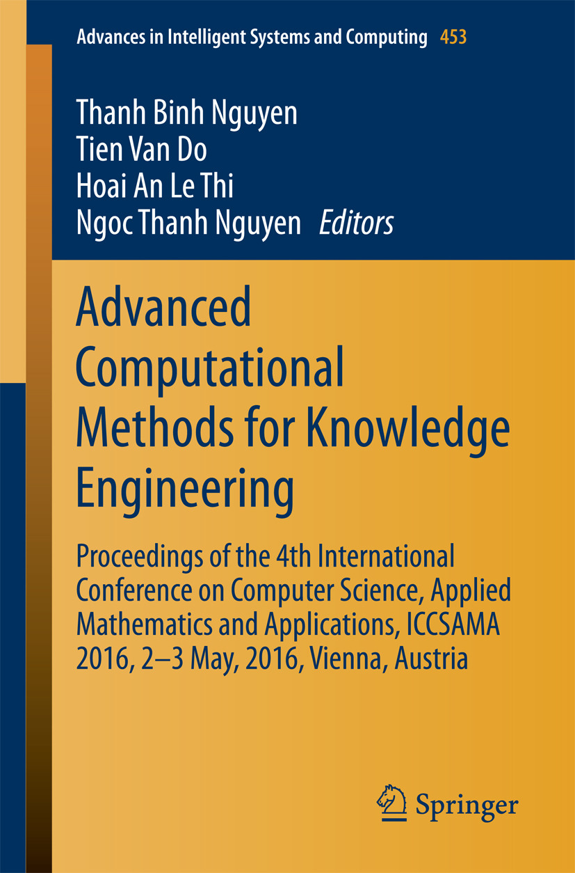 Do, Tien van - Advanced Computational Methods for Knowledge Engineering, ebook