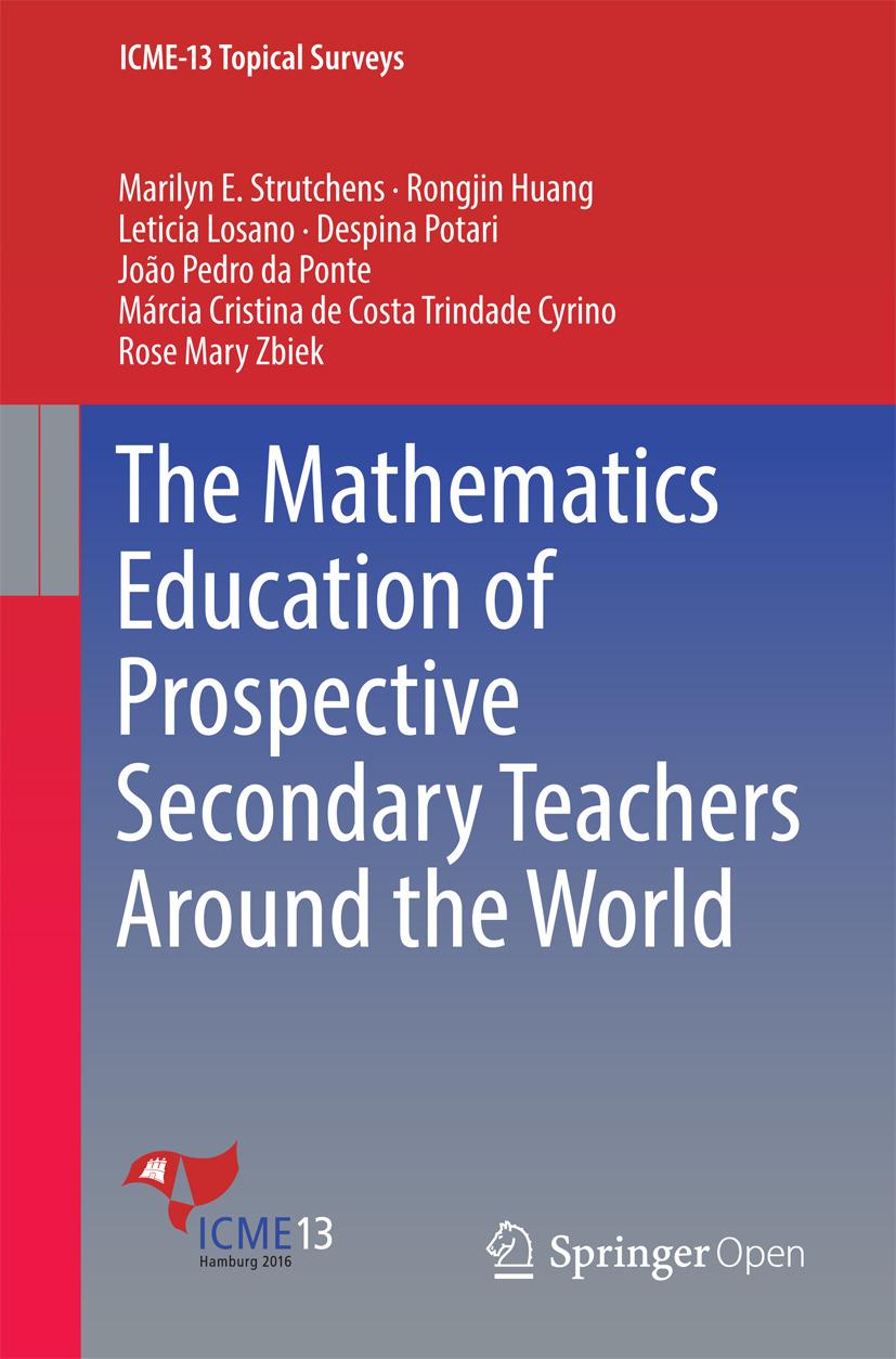 Cyrino, Márcia Cristina de Costa Trindade - The Mathematics Education of Prospective Secondary Teachers Around the World, ebook
