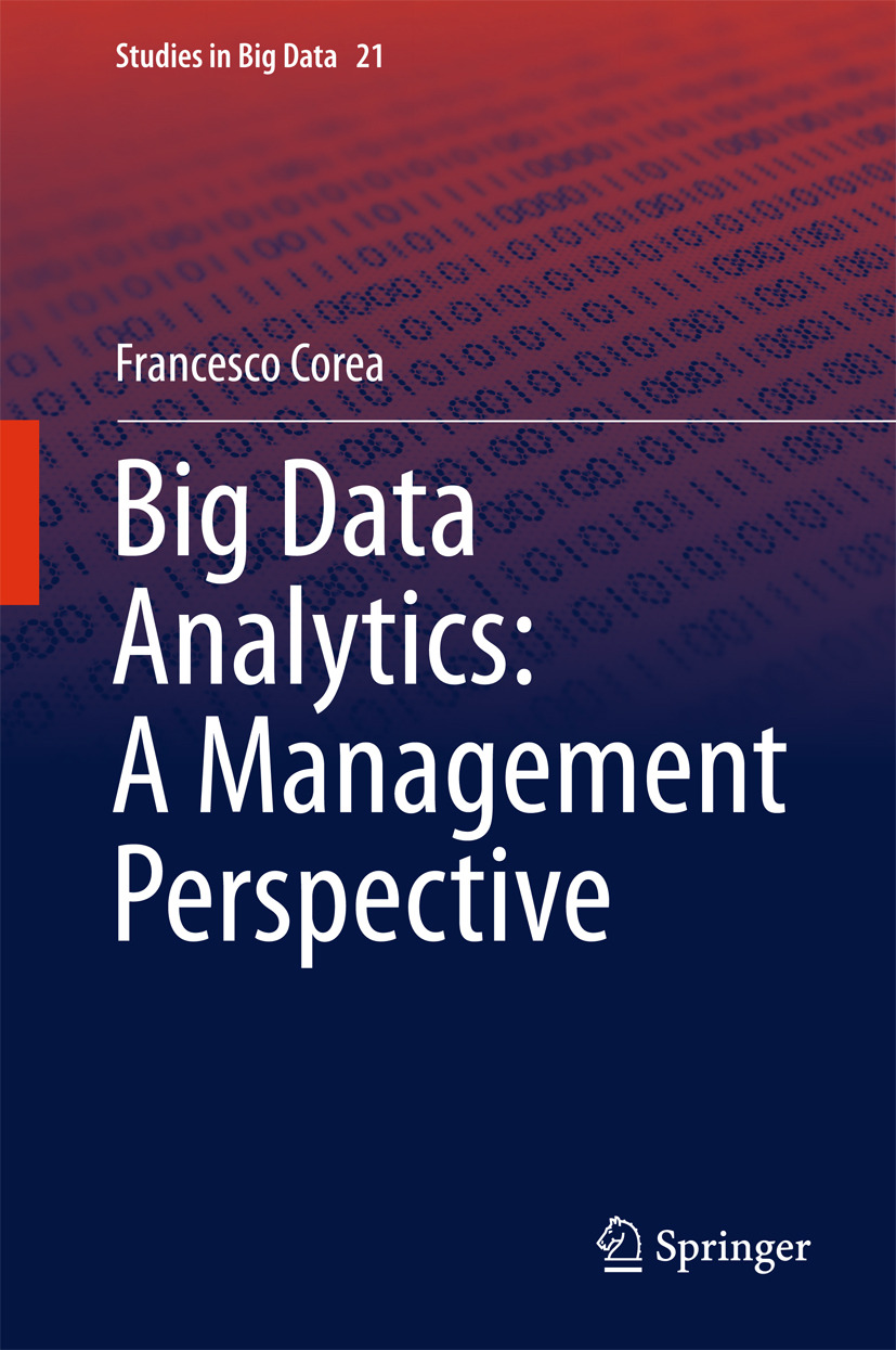 Corea, Francesco - Big Data Analytics: A Management Perspective, ebook