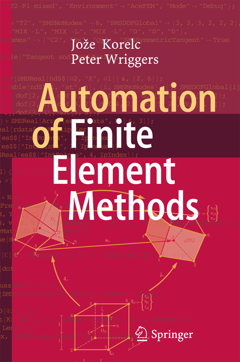 Korelc, Jože - Automation of Finite Element Methods, ebook
