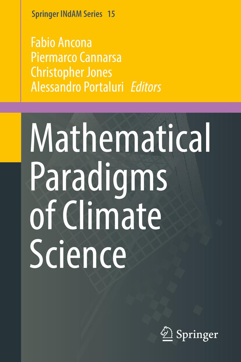 Ancona, Fabio - Mathematical Paradigms of Climate Science, ebook