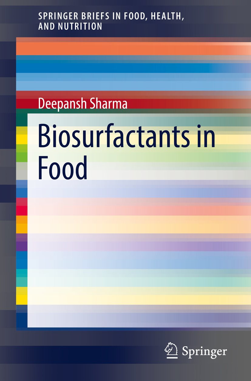 Sharma, Deepansh - Biosurfactants in Food, ebook
