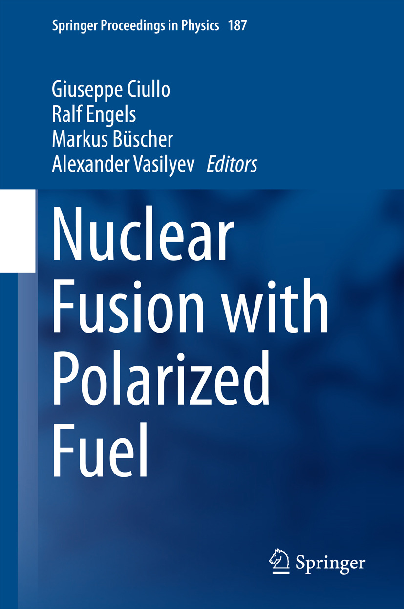 Büscher, Markus - Nuclear Fusion with Polarized Fuel, ebook