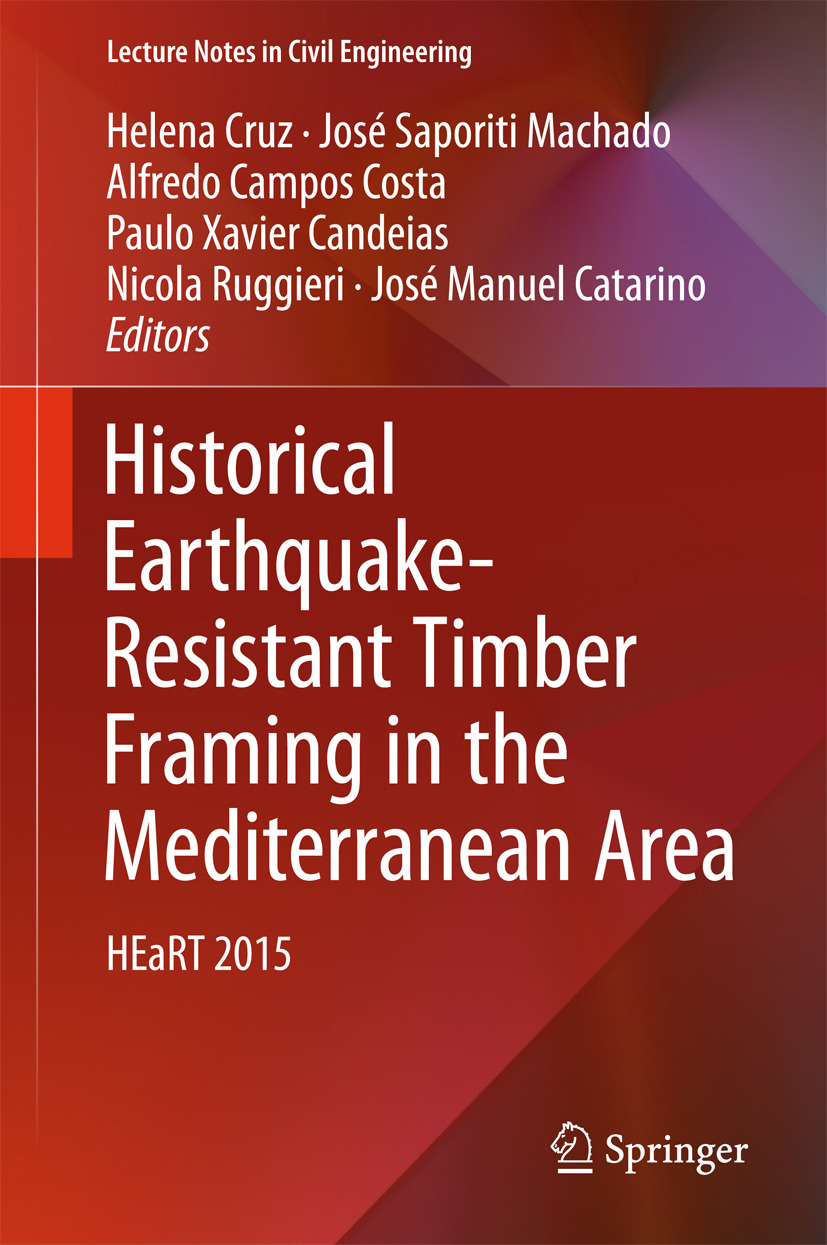 Candeias, Paulo Xavier - Historical Earthquake-Resistant Timber Framing in the Mediterranean Area, ebook