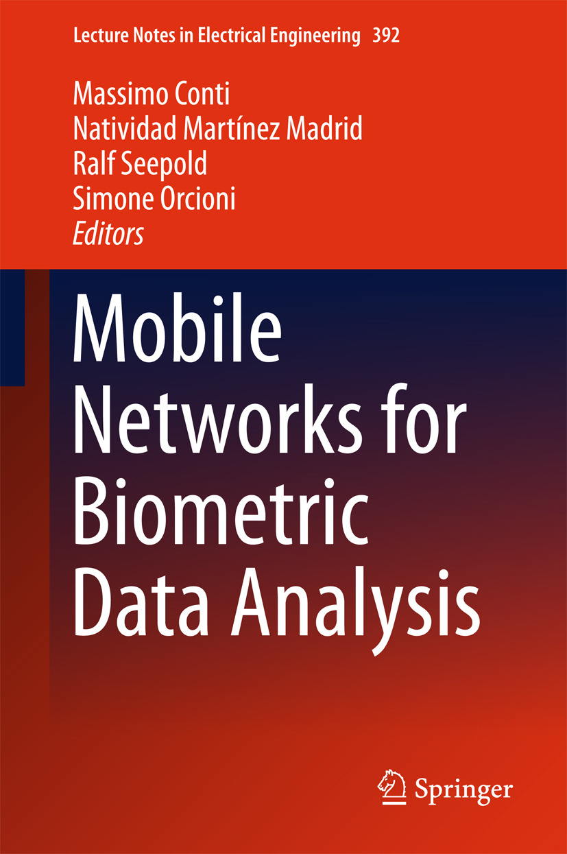 Conti, Massimo - Mobile Networks for Biometric Data Analysis, ebook