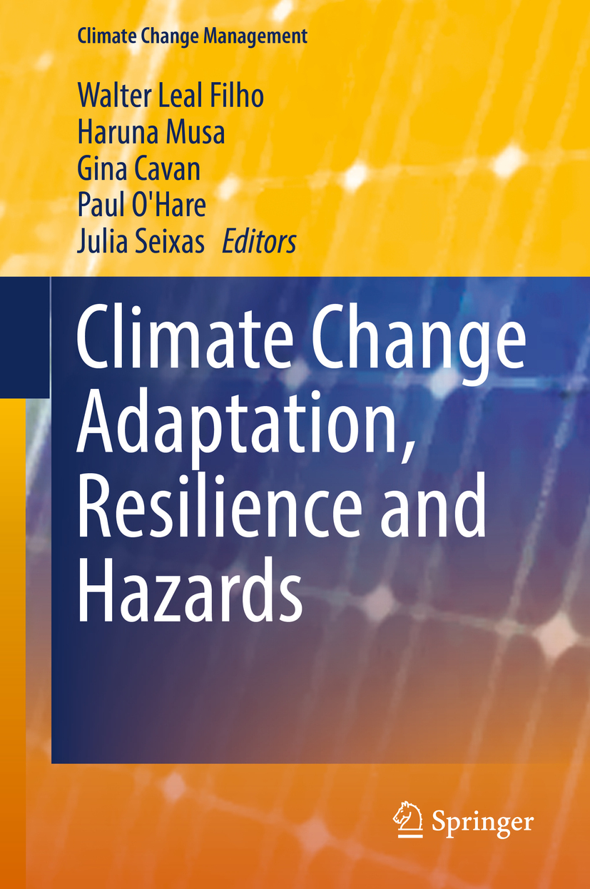 Cavan, Gina - Climate Change Adaptation, Resilience and Hazards, ebook