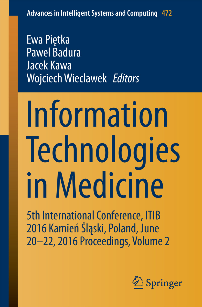 Badura, Pawel - Information Technologies in Medicine, ebook