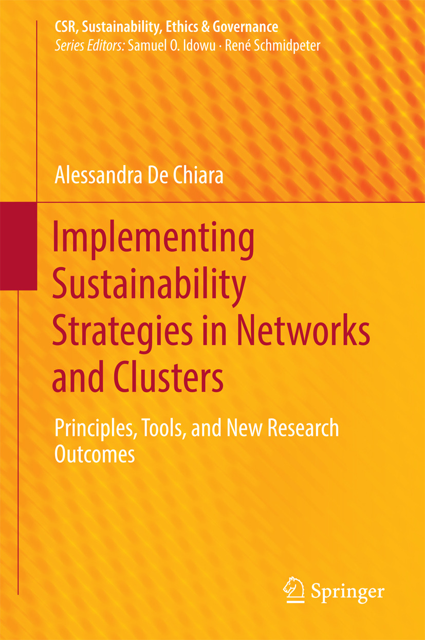 Chiara, Alessandra De - Implementing Sustainability Strategies in Networks and Clusters, ebook
