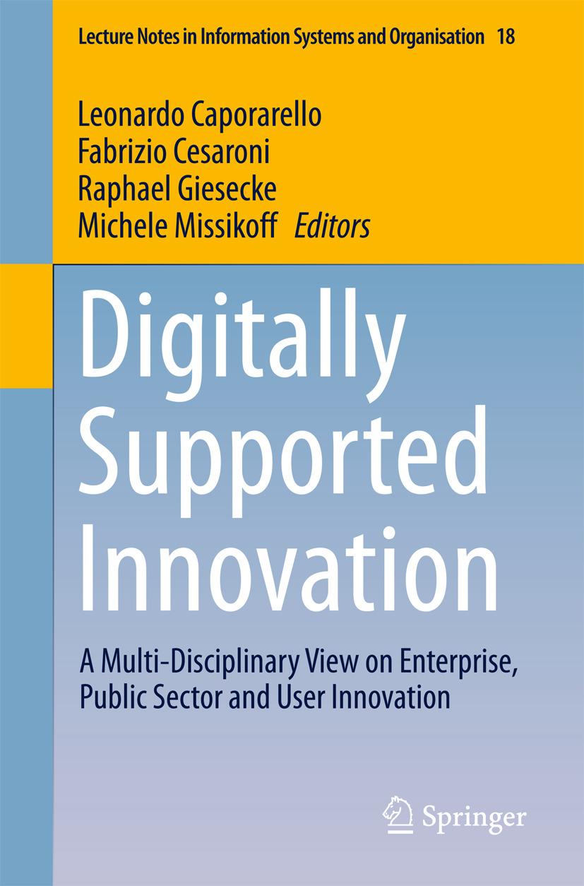Caporarello, Leonardo - Digitally Supported Innovation, ebook