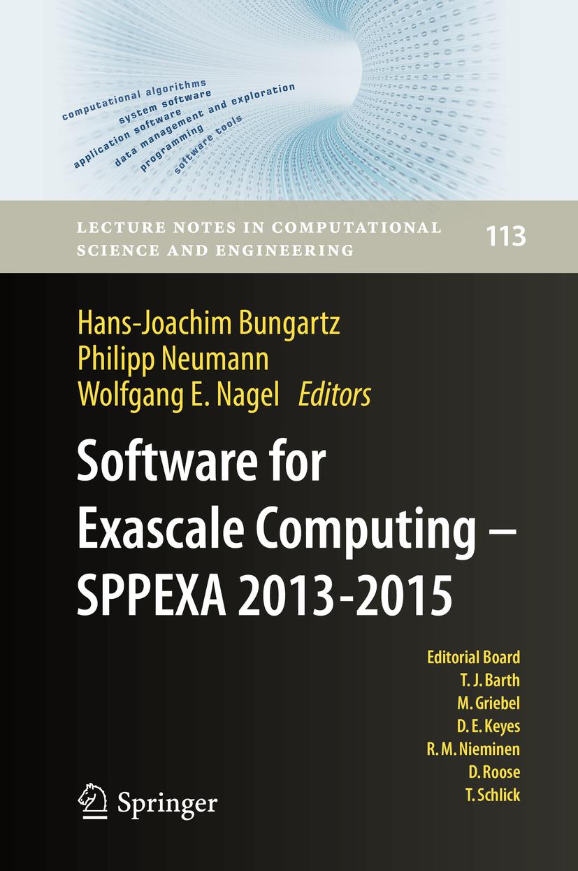 Bungartz, Hans-Joachim - Software for Exascale Computing - SPPEXA 2013-2015, ebook